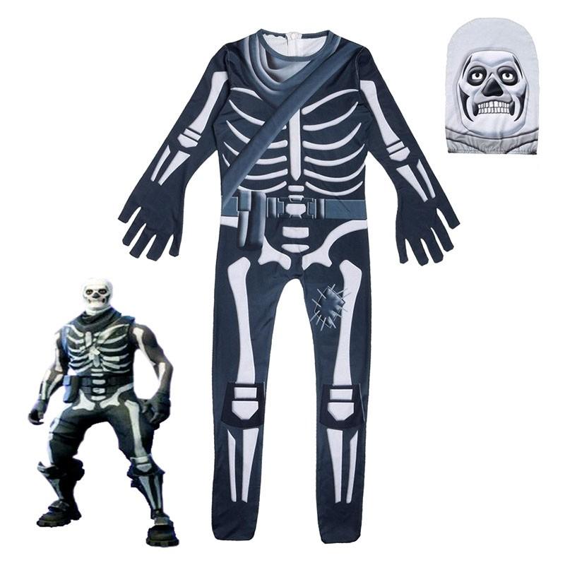 Déguisement Fortnite enfant Skin Skull Trooper