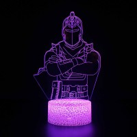 Lampe Fortnite 3D : Chevalier Noir