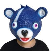Masque Fortnite : Ours Bleu (Chef d'Équipe Festive)