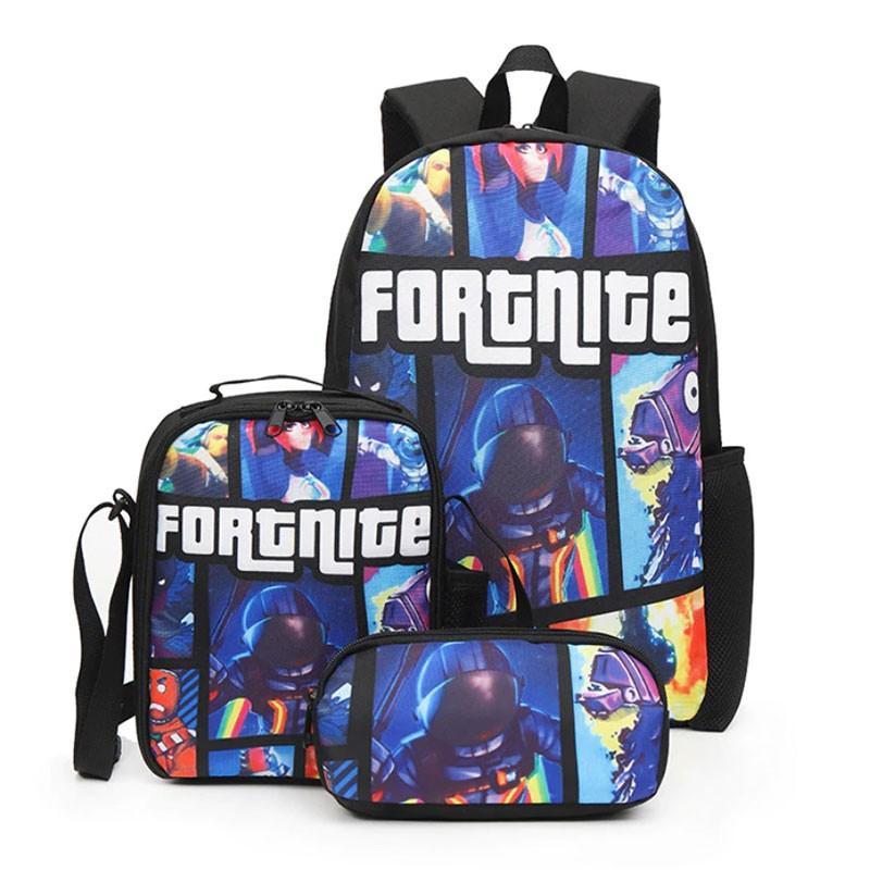 Sac Fortnite + Sacoche Fortnite + Trousse Fortnite