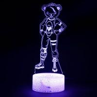Lampe Fortnite 3D : Experte des Câlins