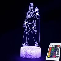 Lampe Fortnite 3D Nomade Estival télécommande