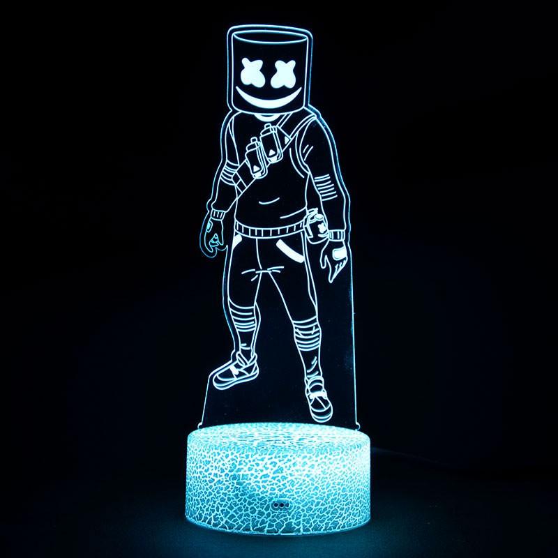 Lampe Fortnite 3D Marshmello