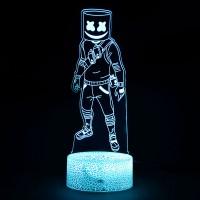 Lampe Fortnite 3D : Marshmello