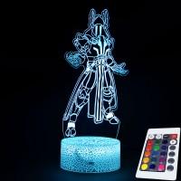Lampe Fortnite 3D Roi des Glaces télécommande