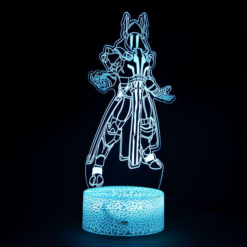 Lampe Fortnite 3D Roi des Glaces