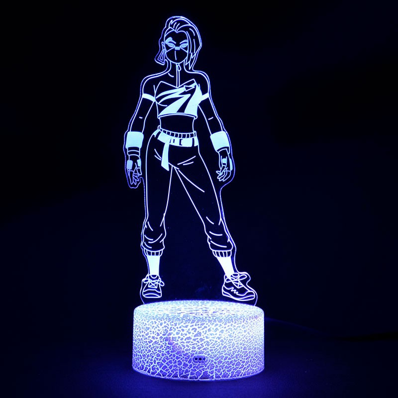 Lampe Fortnite 3D Déclic