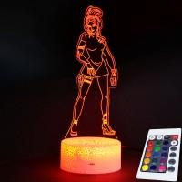 Lampe Fortnite 3D Méta télécommande