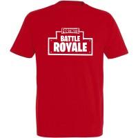 T-shirt Fortnite Battle Royale rouge