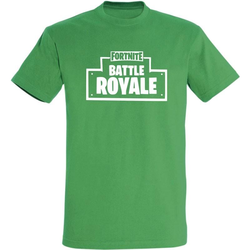 T-shirt Fortnite Battle Royale vert