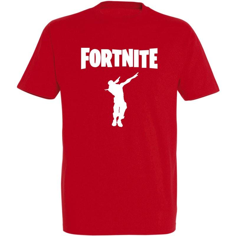 T-shirt danse Fortnite Dab rouge