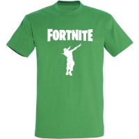 T-shirt danse Fortnite Dab vert