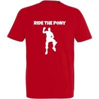 T-shirt Fortnite : Ride the Pony