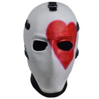 Masque Fortnite Skin Joker Cœur