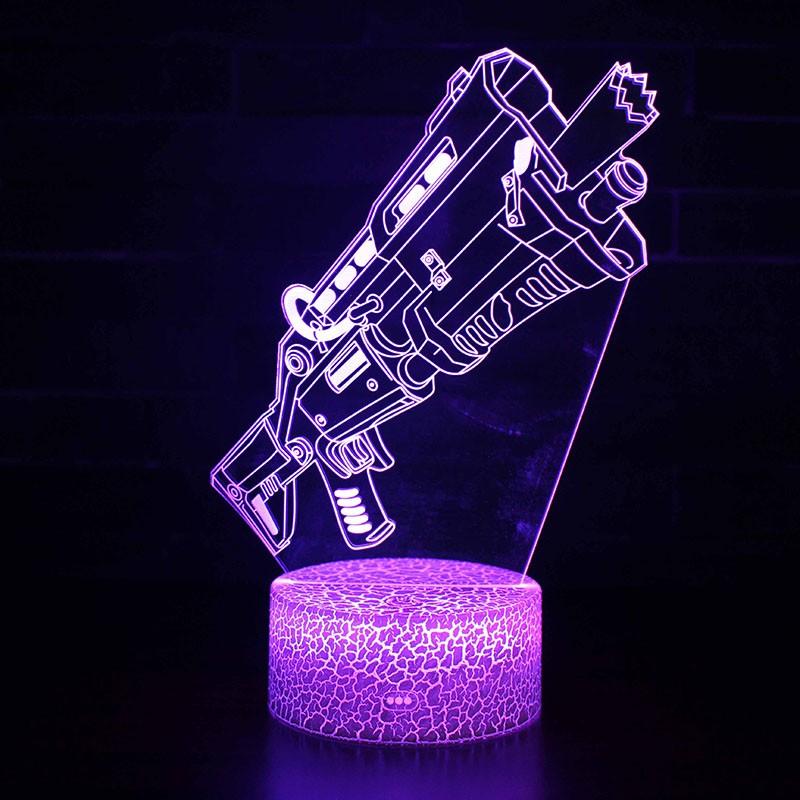 Lampe Fortnite 3D Fusil à pompe tactique
