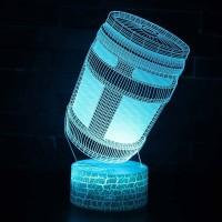 Lampe Fortnite 3D : Gourde du Brave