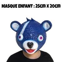 Masque Fortnite Ours Bleu enfant