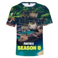 T-shirt Fortnite : Bateau Pirate Saison 8
