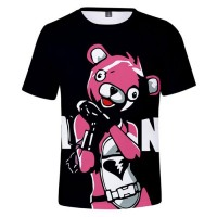 T-shirt Ours Rose Fortnite