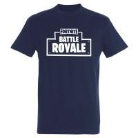T-shirt Fortnite Battle Royale bleu marine