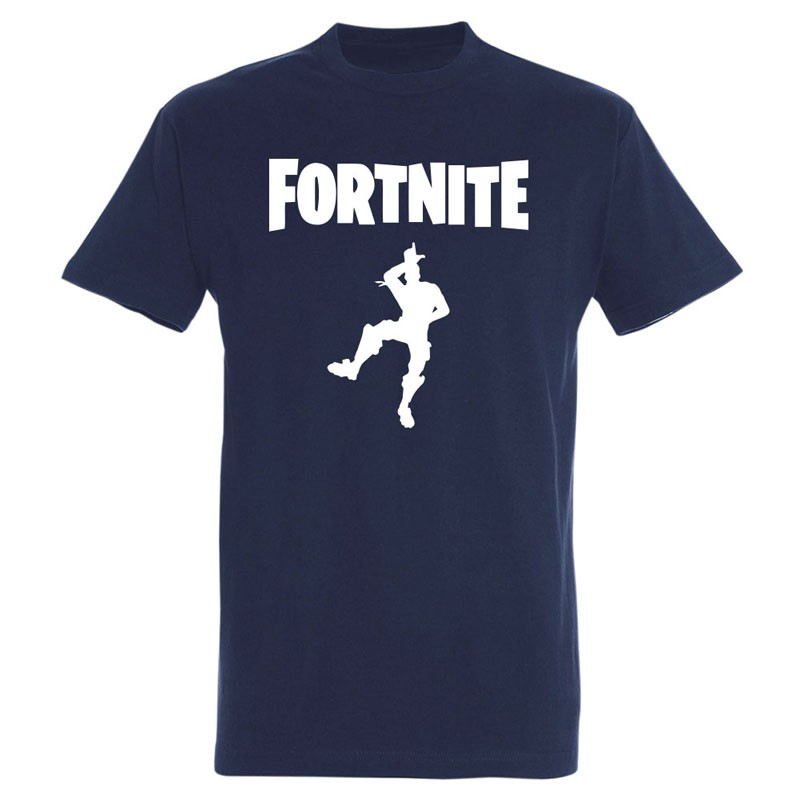 T-shirt Fortnite danse du loser (Take the L) bleu marine