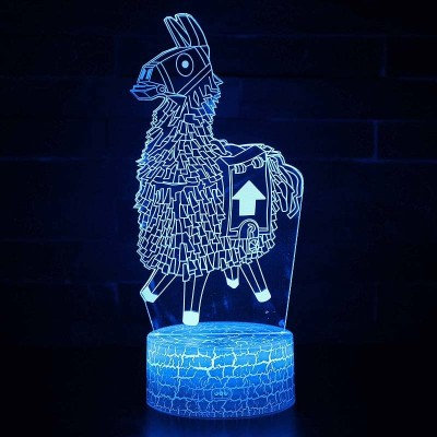 Lampe 3D lama Fortnite