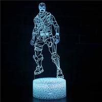 Lampe Fortnite 3D : Skull Trooper
