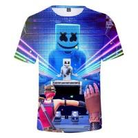 T-shirt Marshmello concert Fortnite