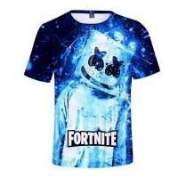 T-shirt Marshmello Électrique Fortnite