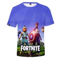 T-shirt Fortnite Avengers Poiscaille & Terreur Fluo