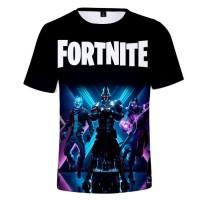 T-shirt Fortnite Saison X skins Chevalier Ultime, Voyageur Éternel, Déclic