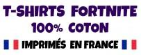 Boutique Fortnite - T-shirts Fortnite 100% coton pour adulte & enfant