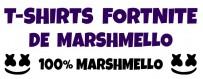 Tee-shirts Fortnite de Marshmello