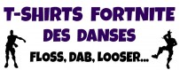 Tee-shirts de danses Fortnite